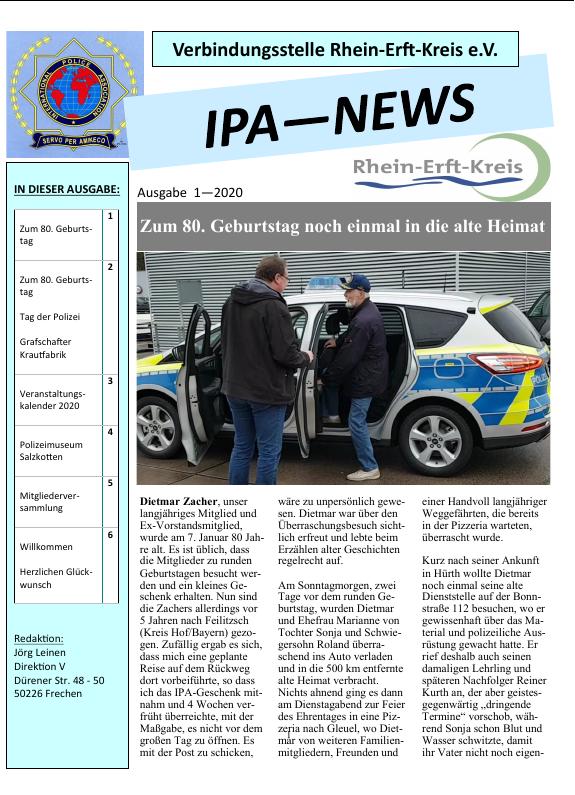 die neue IPA-News ist da!